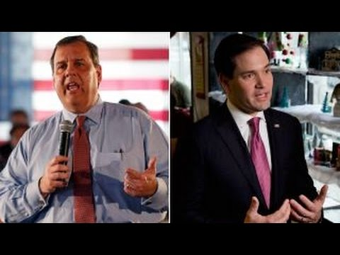Christie keeps attacking Rubio