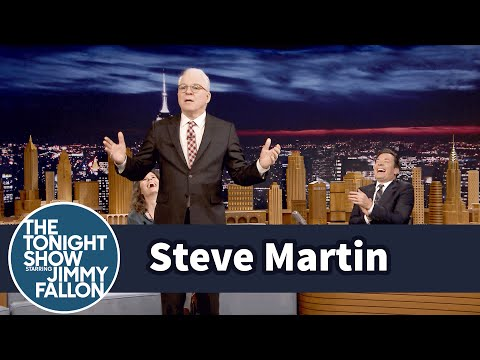 Steve Martin does 1st Stand-Up in 35 Years