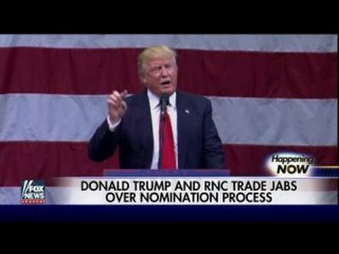 Trump and RNC trade jabs over nomination process