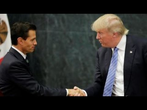Trump's Mexico trip defied press expectations